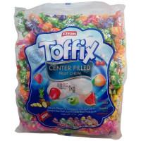 """Конфеты жевательные """"TOFFIX"""" фруктовые 1000 г"""