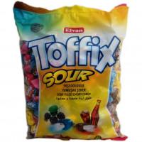 """Конфеты жевательные """"TOFFIX SOUR MIX"""" 1000г"""