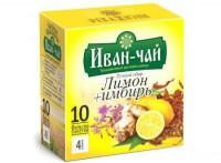 Иван-чай «Имбирь и лимон» фильтр-пакеты
